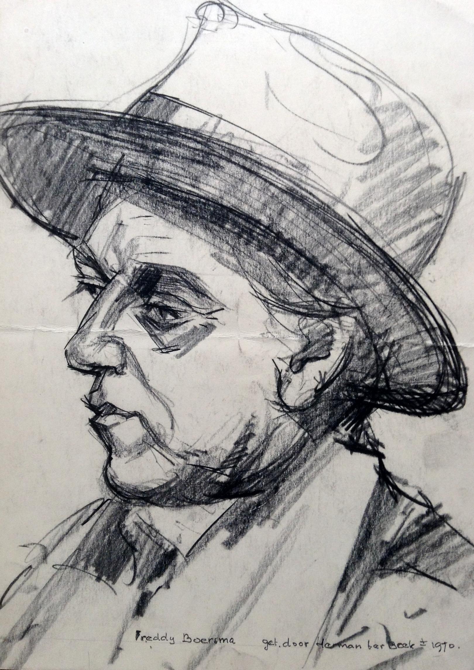 Kunstschilder Ferdinand Boersma