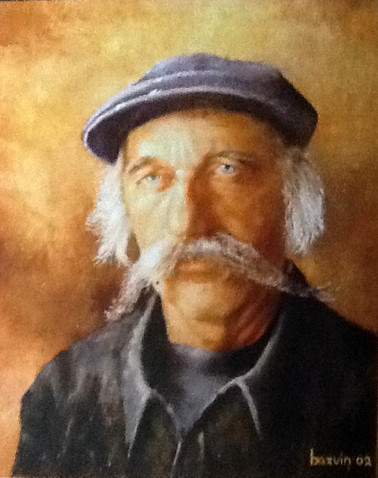 Kunstschilder Jan Bazuin