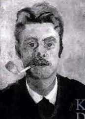Zelfportret Piet Meiners