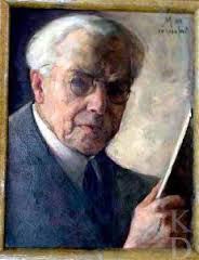 Kunstschilder Simon Moulijn