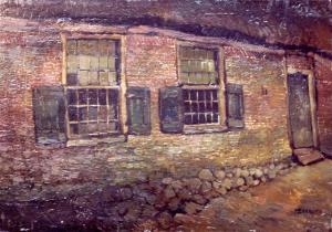 Boerderij Euving te Aalden van kunstschilder Ferdinand Boersma