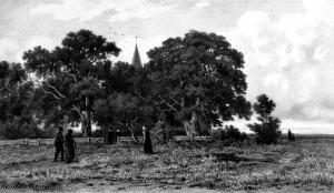 De kerk op de heide van Alexander Mollinger