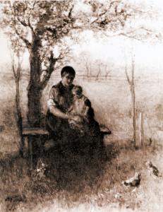 Drentse Madonna van Jozef Israels