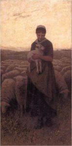 Terugkeer van de kudde door David Artz