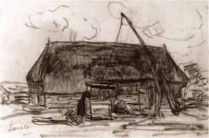 Boerin te Zweeloo van Simon Moulijn