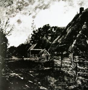 Dorf in der Drenthe van Helmtuh Liesegang
