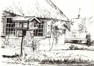 Prakkehof in Meppen van Jan Nagtegaal