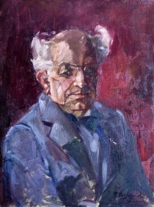 Portret Professor Prakke van Roos Nagtegaal-Bosnak