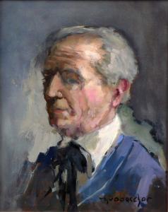 Kunstenaar Theodorus van Oorschot
