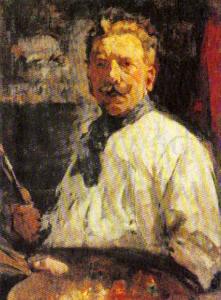 Kunstschilder Willem van der Nat
