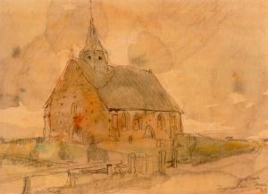 Zweeler Kerkje van Willem van der Nat