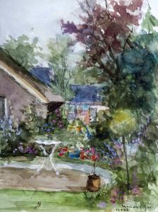Tuin de Kniephof te Zweeloo van Theo van Oorschot
