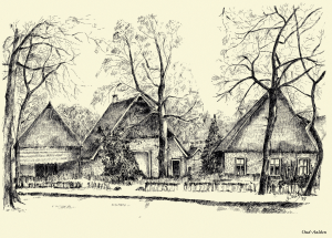 Oud Aalden van illustrator Yvonne Brill