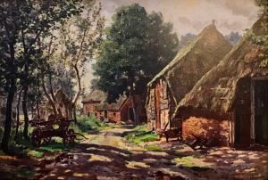 Benneveld dorpsgezicht van Evert Musch