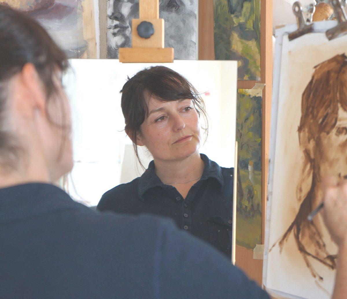 Kunstenaar Janey Tobertson