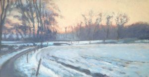 Winterlandschap Zweeloo