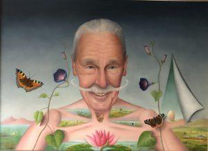 Kunstenaar Kees Thijn