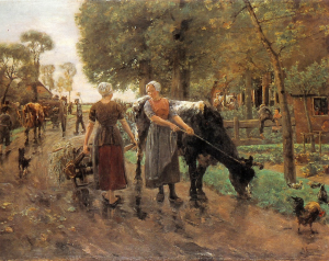 Koeien van Max Liebermann
