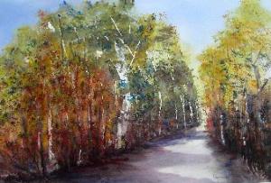 Landschap van Anne Tromp