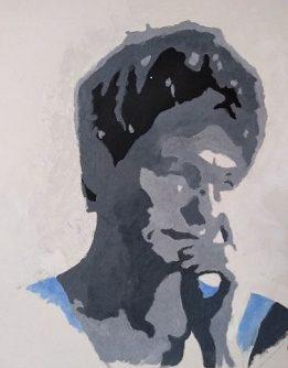 Zelfportret Beatrix Copier